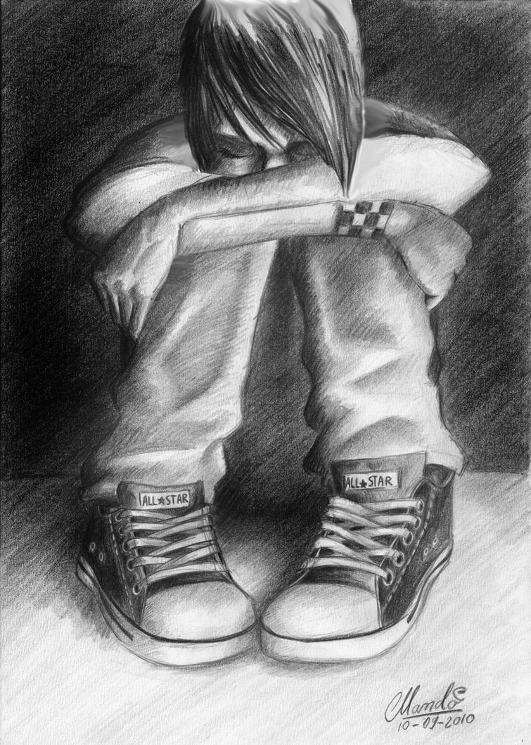 sad emo by ~pedroemo on deviantART