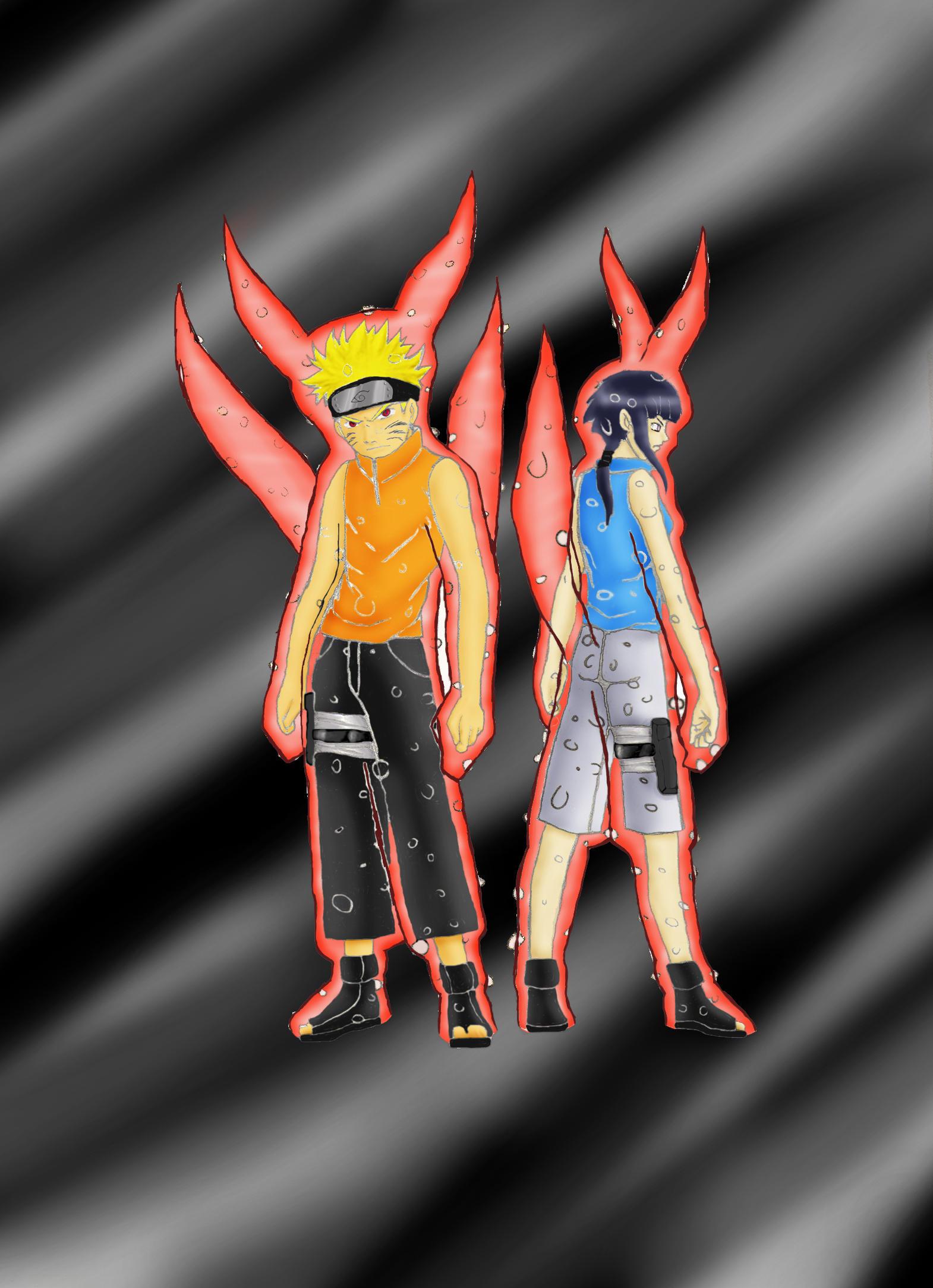 Kyuubi Naruto and Hinata by Shadiz on DeviantArt Naruto X Fem Kyuubi Romance Fanfiction