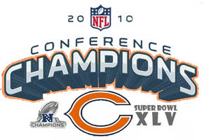 2010 Bears NFC Champions NFL by nintendogmaster