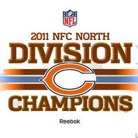 2011 Chicago Bears NFC North Champions by nintendogmaster