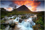Etive Mor Sunset