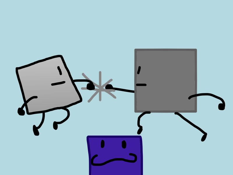 Blacky's evolution by ITSawLArt