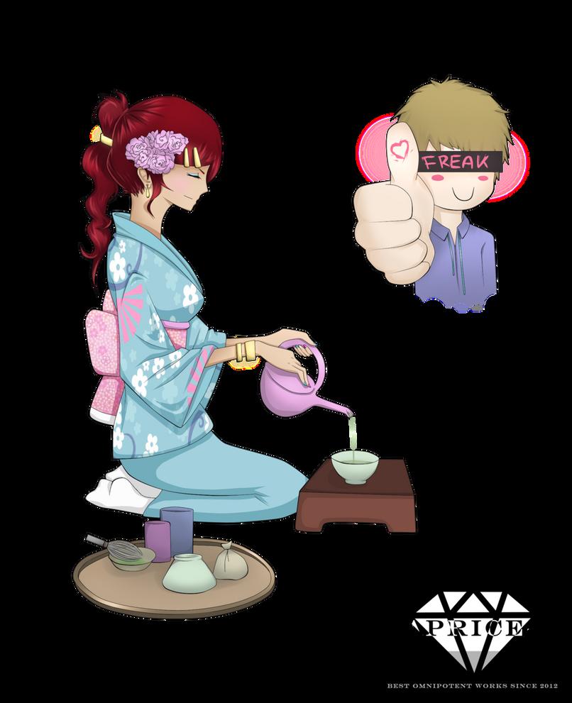 Teatime - Nyu and Masu by Caprice-H