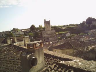 Vue sur Saint-Emilion by r41nb0w