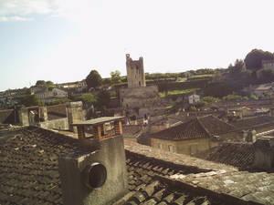 Vue sur Saint-Emilion