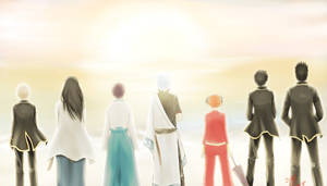 Be together - FA Gintama by hollowcoffin