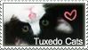 I Love My Tuxedo Cat by Loniface
