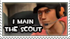 I Main the Scout Stamp by Disdainful-Loni