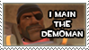 I Main the Demoman Stamp by Disdainful-Loni
