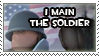 I Main the Soldier by Loniface