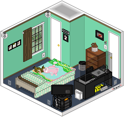 My Little Pixel Room by Disdainful-Loni