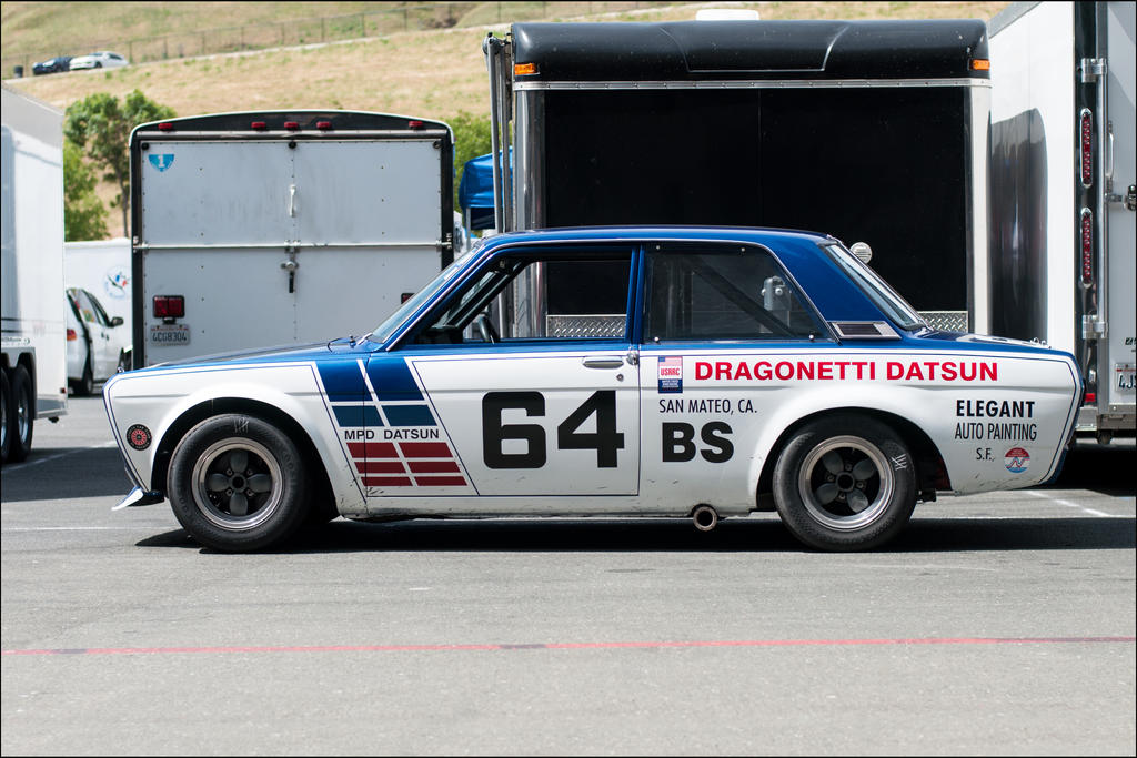 Datsun 510 Racer by SharkHarrington
