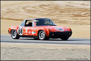1971 Porsche 914-6 by SharkHarrington