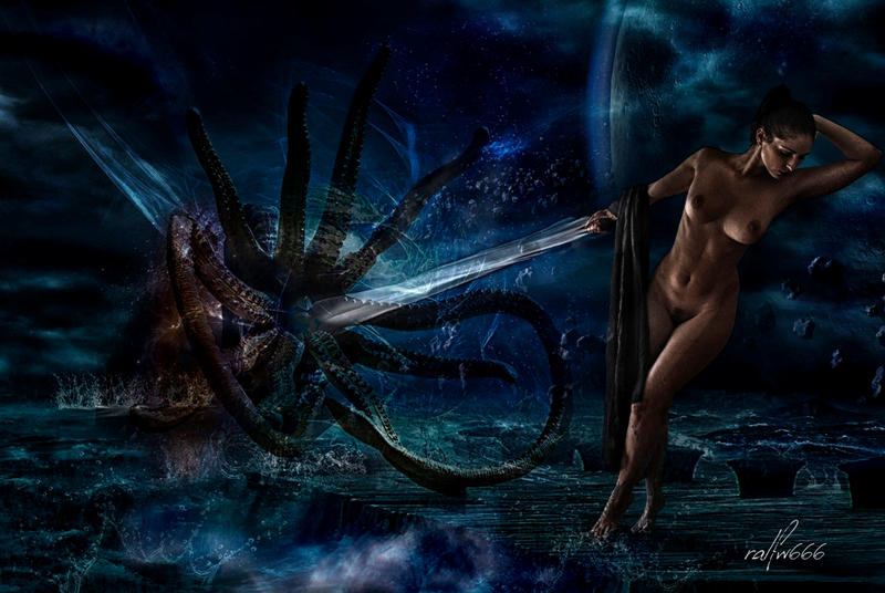 The Birth Of Cthulhu by ralfw666