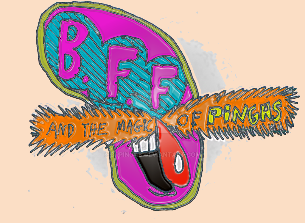 B.F.F -Logo by DrPingas