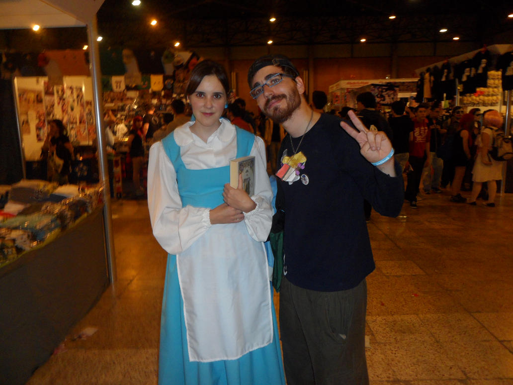 Belle and Pokemon trainer [Mangafest-14] by DrPingas