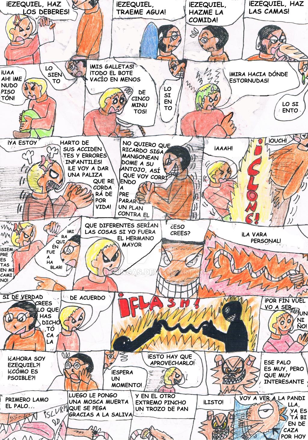 Intercambio de cerebros [Pag 2] by DrPingas