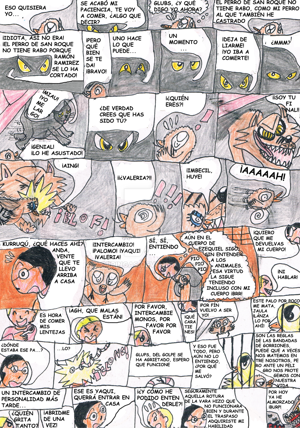 Intercambio de cerebros [Pag 7] by DrPingas