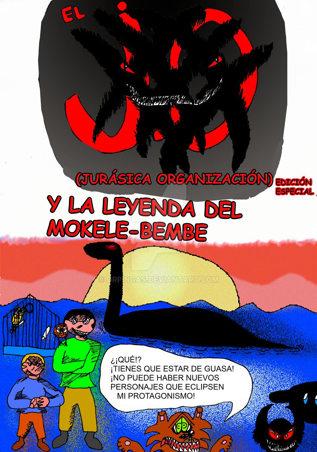 EL JO y la leyenda del Mokele Bembe Pag1 by DrPingas