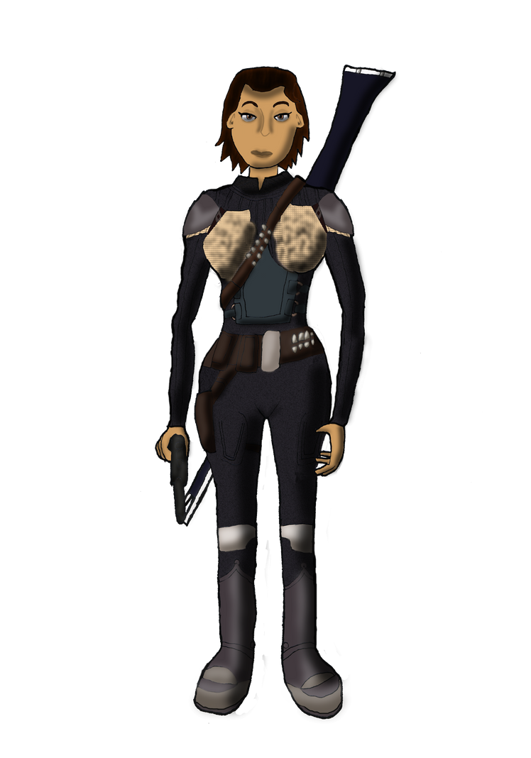Aerinha Darell (Star Wars rol character) by DrPingas