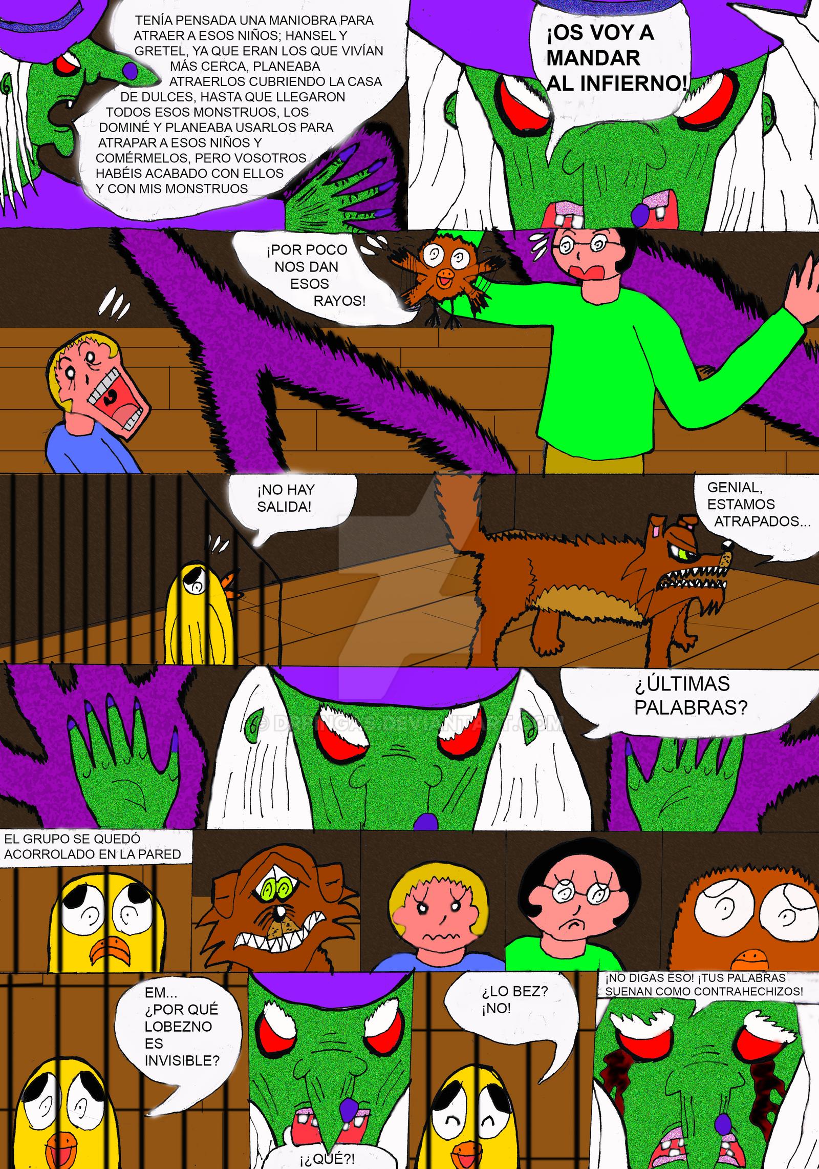 EL JO y la leyenda del Mokele Bembe Pag15 by DrPingas