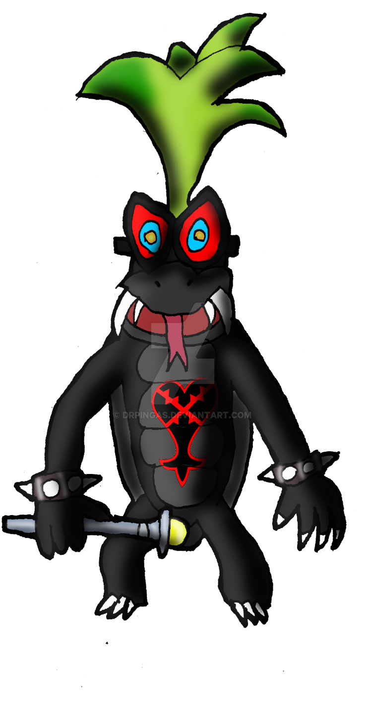 Iggy Koopa Heartless KH Jurassic Revolution by DrPingas