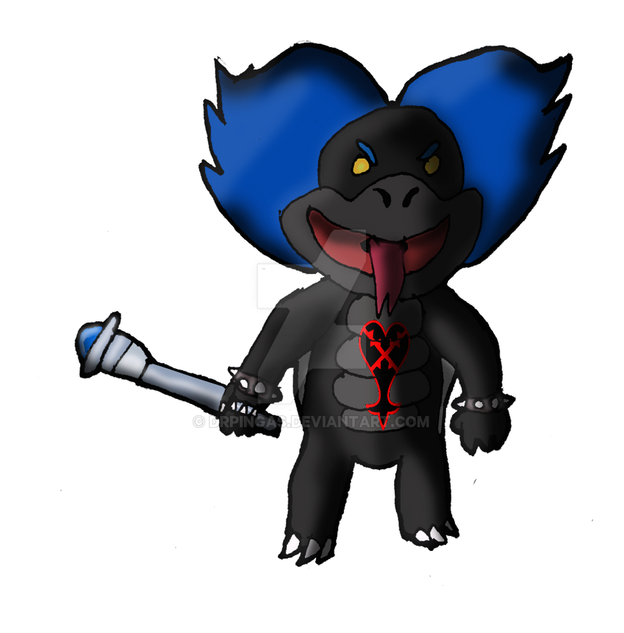 Ludwig Von Koopa Heartless KH Jurassic Revolution by DrPingas