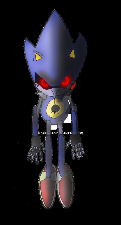 Metal Sonic KH Jurassic Revolution by DrPingas