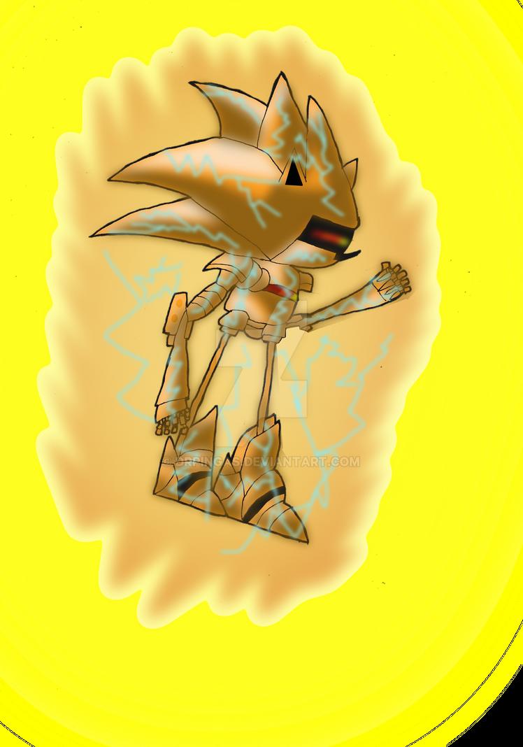 Super Mecha Sonic KH Jurassic Revolution by DrPingas