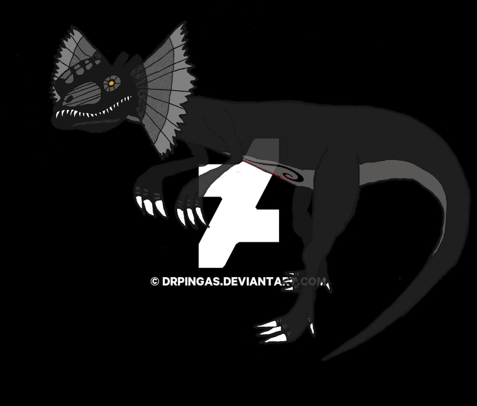 Dilofoumbrio KH Jurassic Revolution by DrPingas