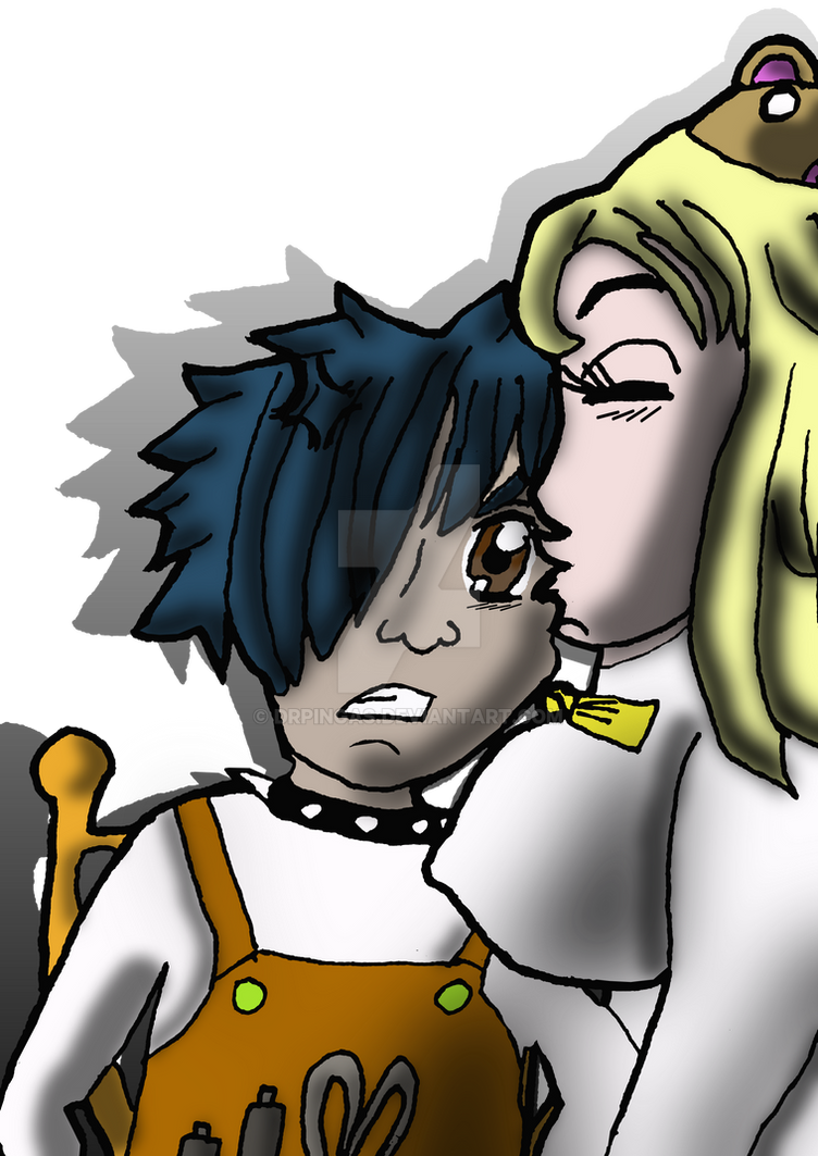Tsuki with Ruki by DrPingas