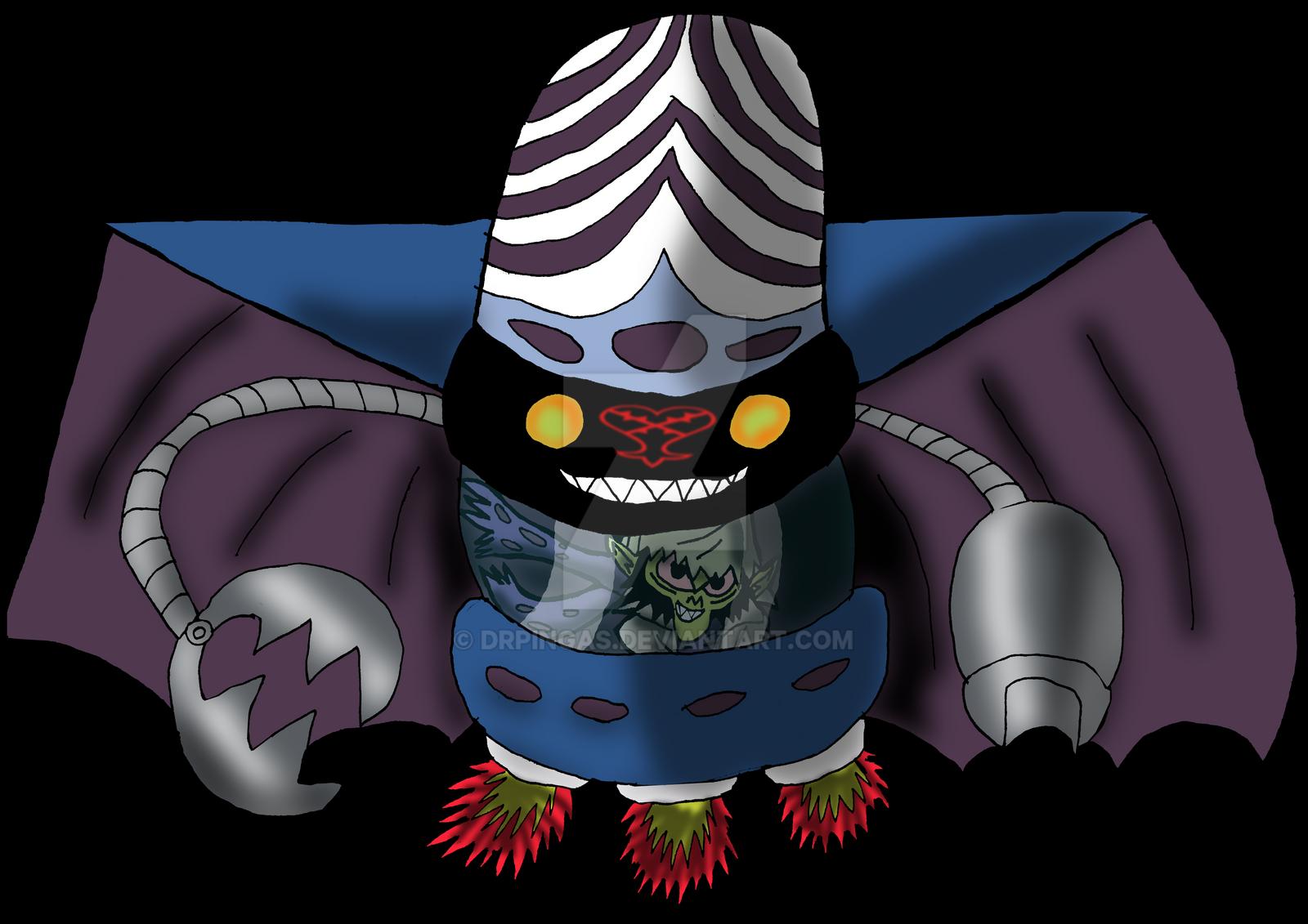 Mojo Jojo Kingdom Hearts JR by DrPingas