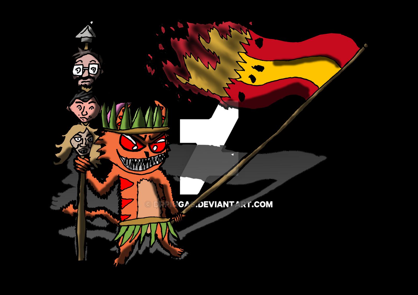 Quinto socio indigena by DrPingas