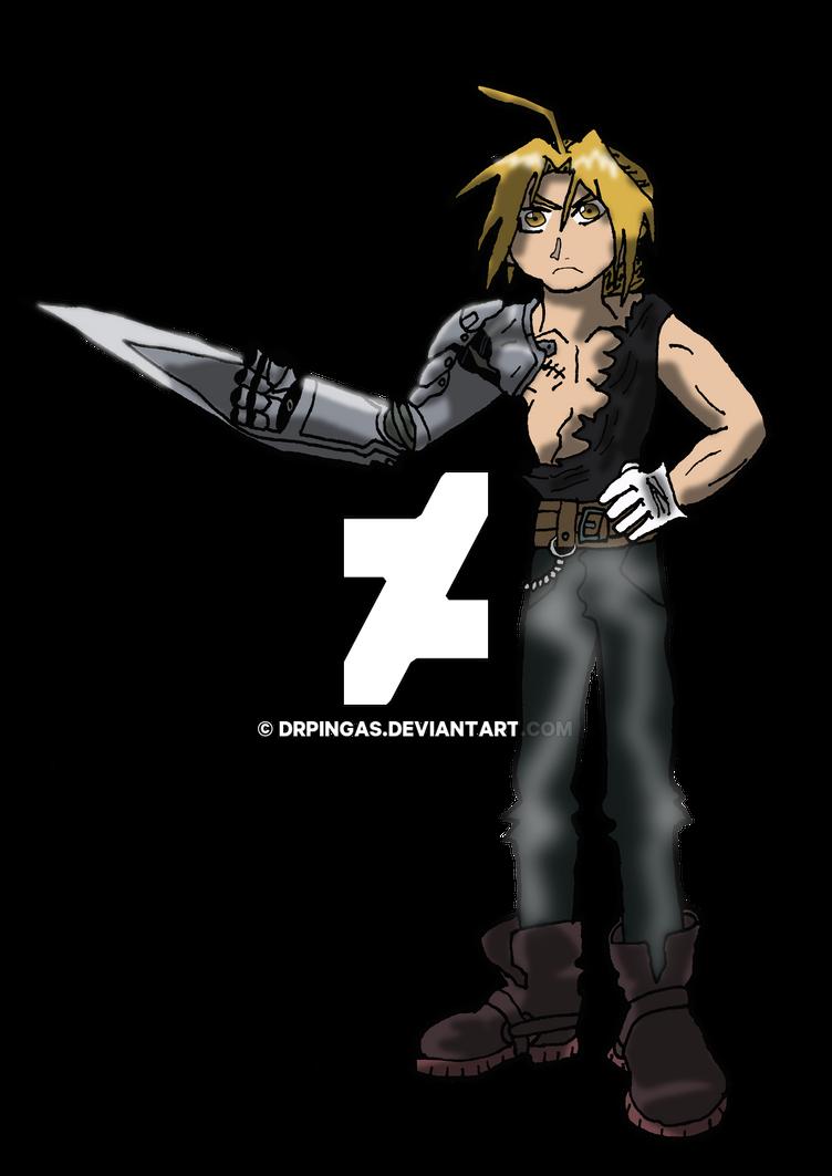 Edward Elric Kingdom Hearts JR by DrPingas
