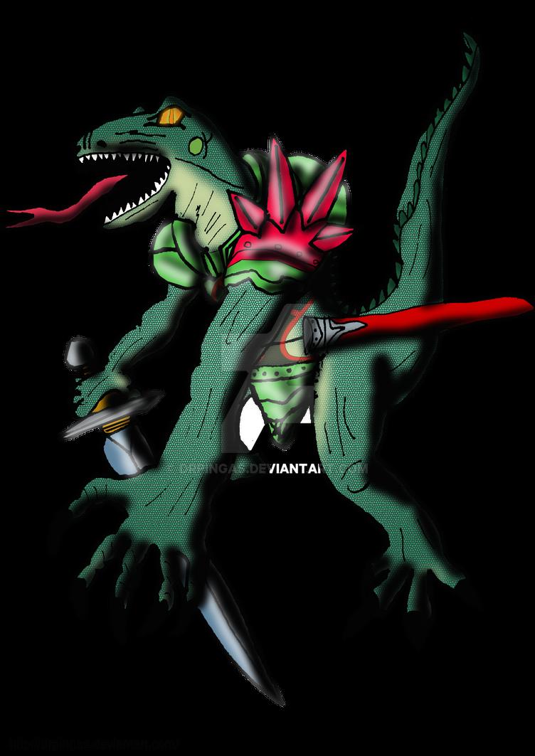 Lizalfos Ocarina Kingdom Hearts JR by DrPingas