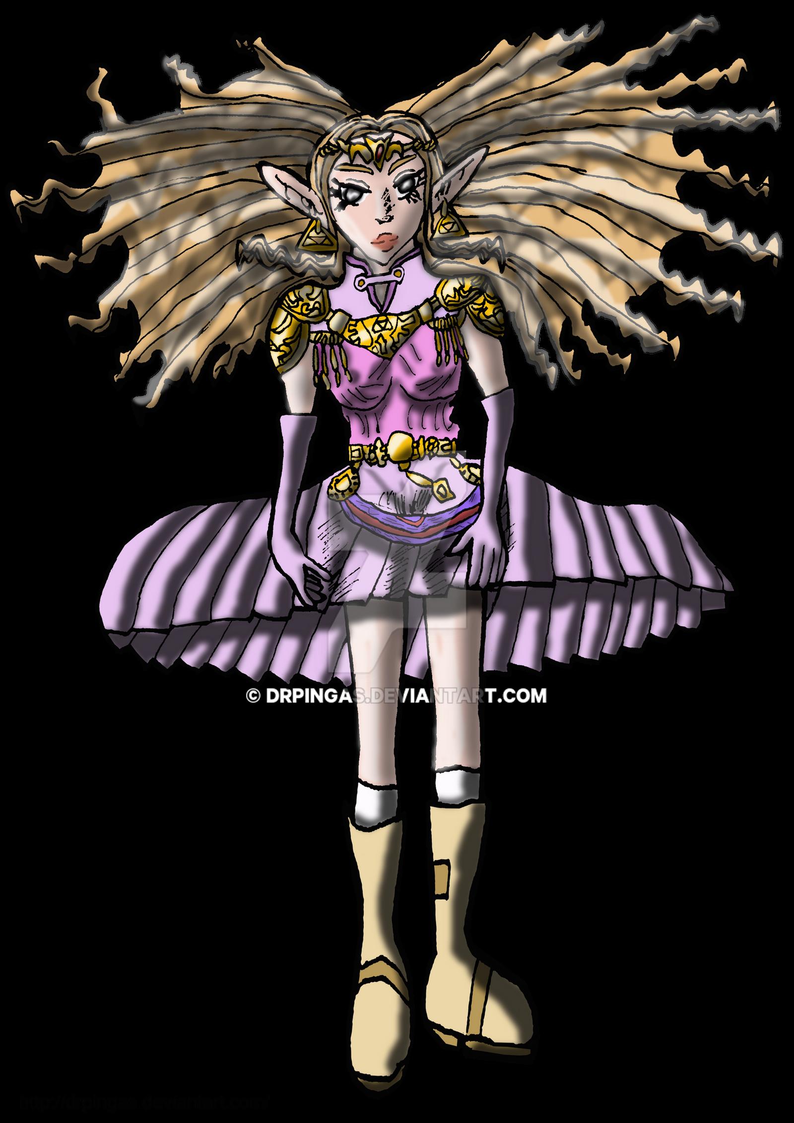 Zelda Fantasma Ocarina Kingdom Hearts JR by DrPingas
