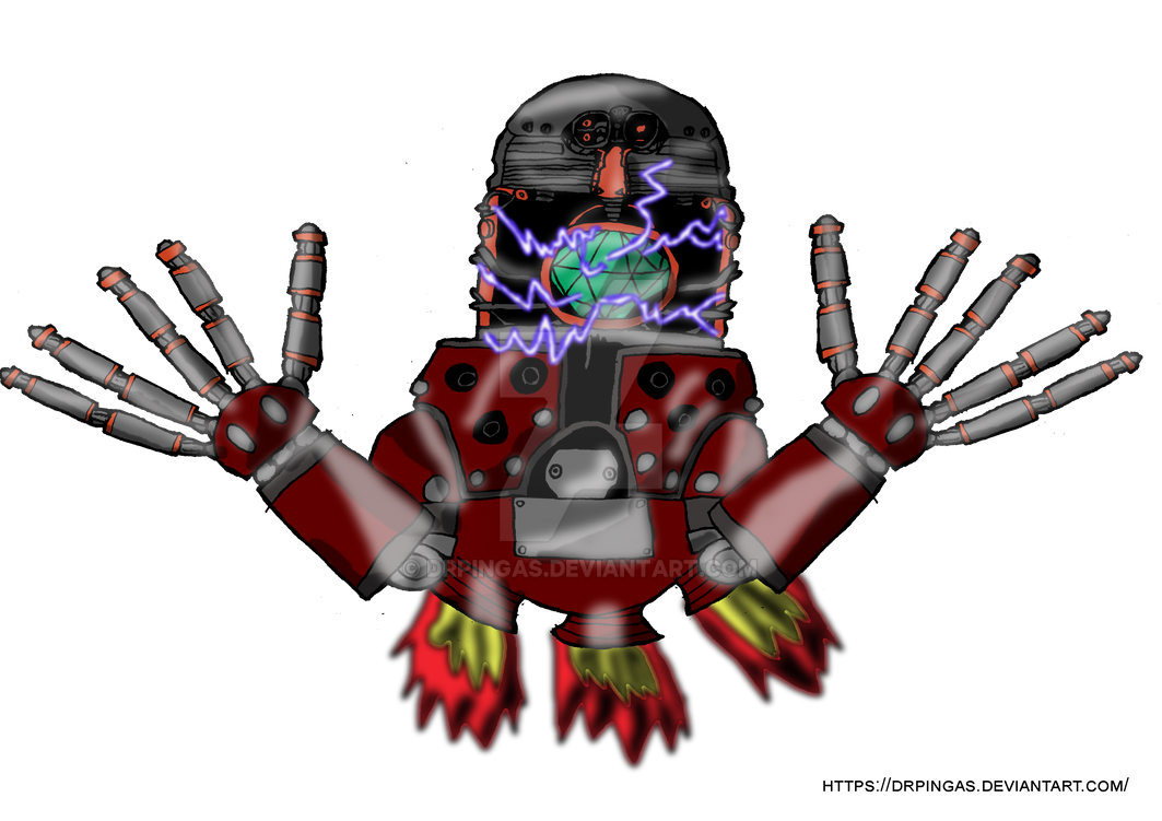 Death Egg Robot Sonic 3 Kingdom Hearts JR by DrPingas