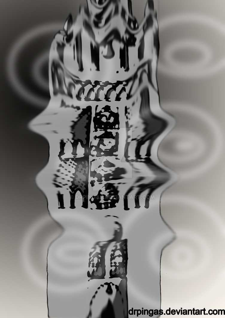 Giralda Underwater Ink october 4 by DrPingas