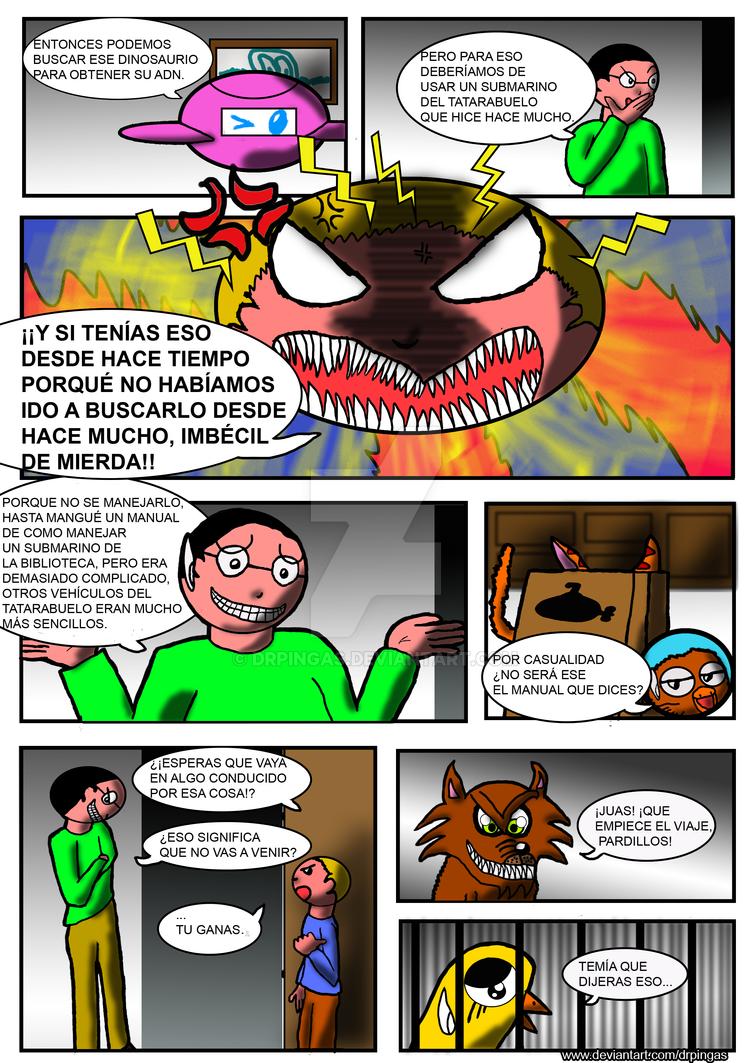 EL JO y la leyenda del Mokele Bembe Pag40 by DrPingas