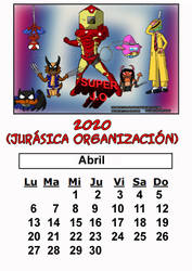 SuperJO #ElJOcalendario #Abril2020 by DrPingas