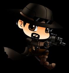 COMMISSION: Gunslinger