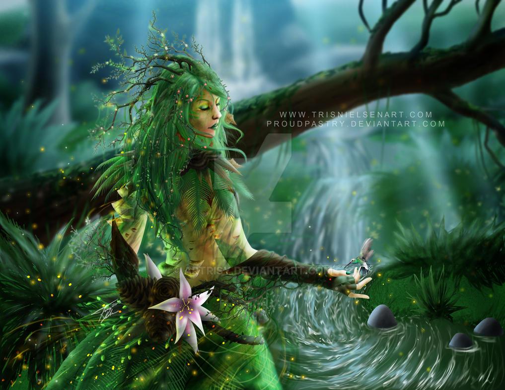 GW2 The Six Gods - Melandru by Artrisy