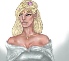 Elven Queen Lostariel Fanart