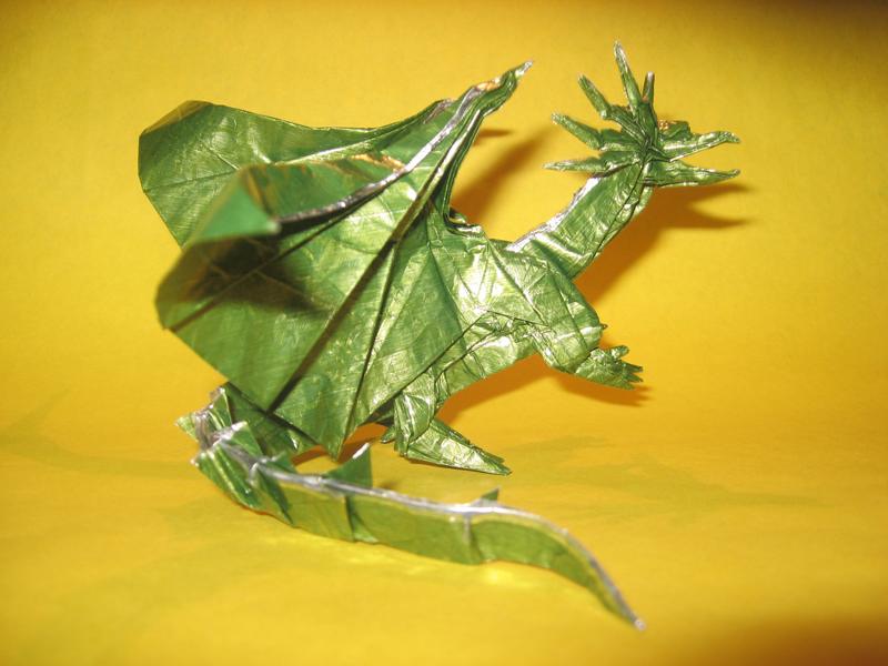 Origami Ancient Dragon By Haomaru87 On Deviantart