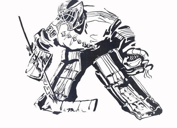 hockey by tokuga