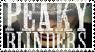 Peaky blinder stamp by Tangleoflies