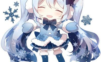 Miku Hatsune - Chibi (Winter) by Rellakinoko