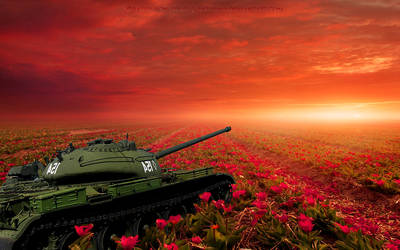 T-54 - USSR Medium Tank by WenexPL
