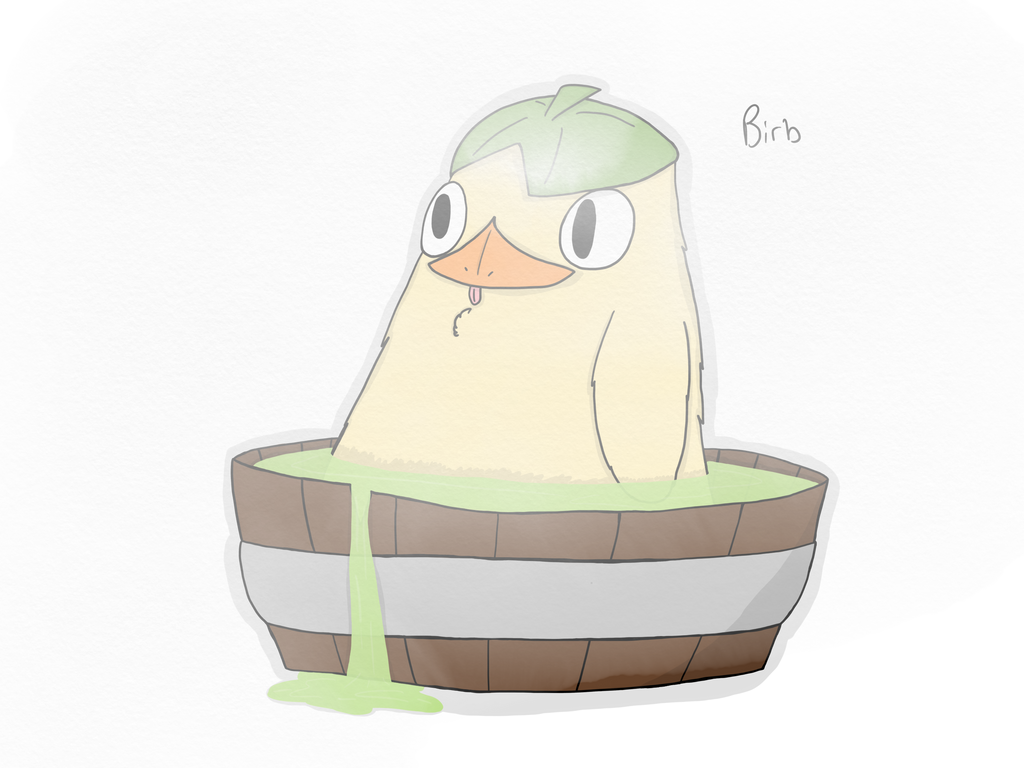 It S That Duck Birb From Spirited Away By Thereallycrappyocguy On Deviantart