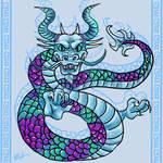 Dragon doodle c:
